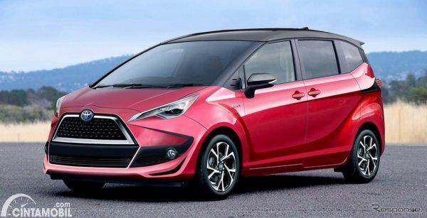 Toyota Sienta generasi terbaru dengan platform TNGA