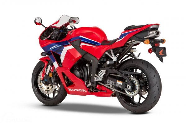 Honda CBR600RR Tricolor 2021 Rear