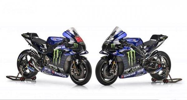 Livery Tim Yamaha Monster Energy MotoGP 2021