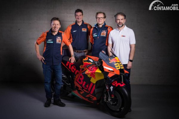 Tim Pabrikan KTM MotoGP