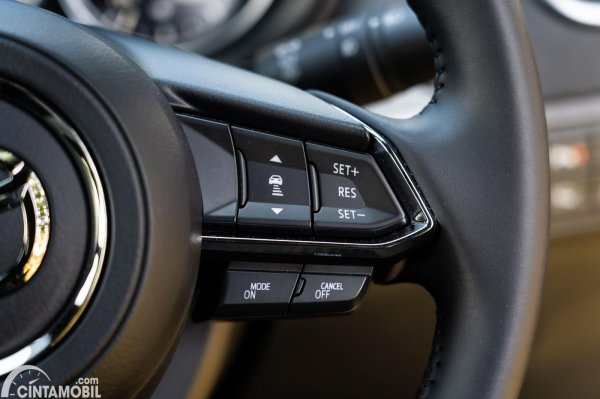 setir Mazda CX-9 AWD 2020 berwarna hitam