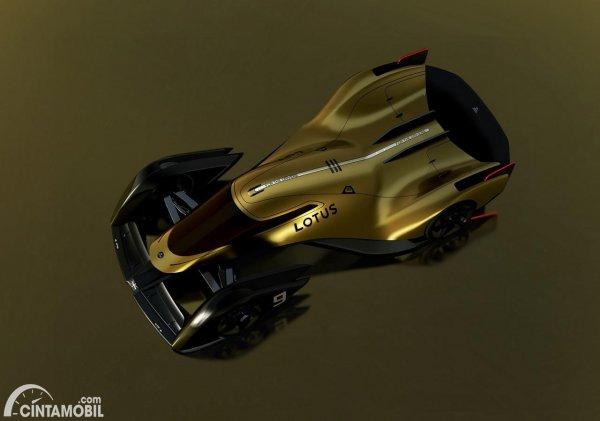 konsep Lotus E-R9 untuk Le Mans 24 Jam