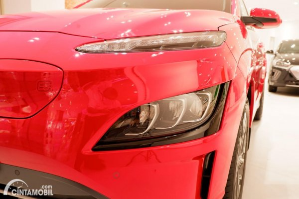 Foto headlamp Hyundai KONA Electric Facelift 2021