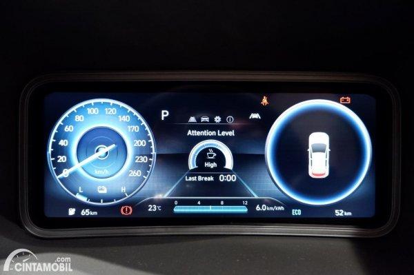 Foto panel instrumen Hyundai KONA Electric Facelift 2021