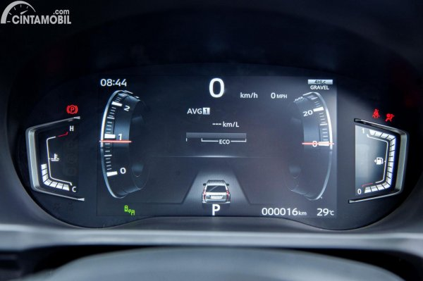 Gambar panel instrumen Mitsubishi Pajero Sport Dakar 4x4 2021