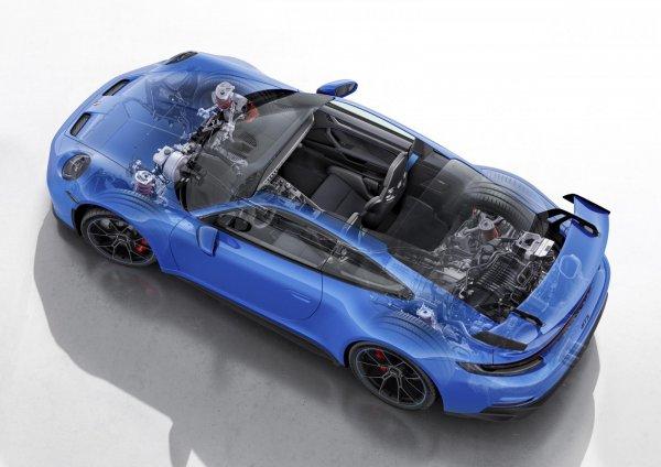 Mesin Porsche 911 GT3