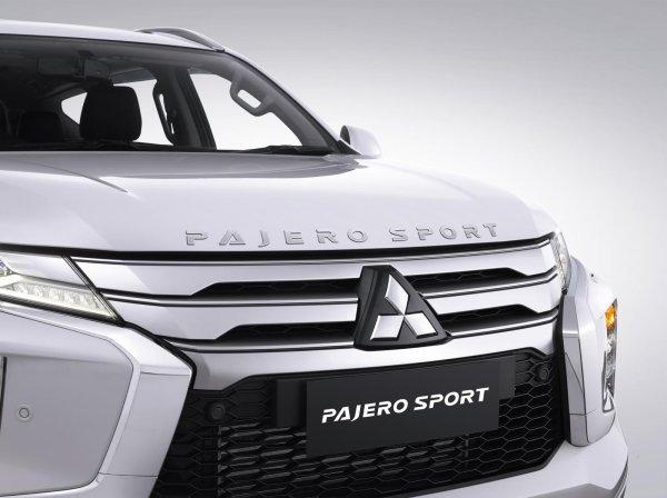 Pajero Sport Facelift