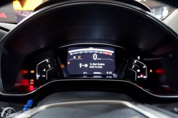 Foto panel instrumen Honda CR-V Turbo Prestige 2021