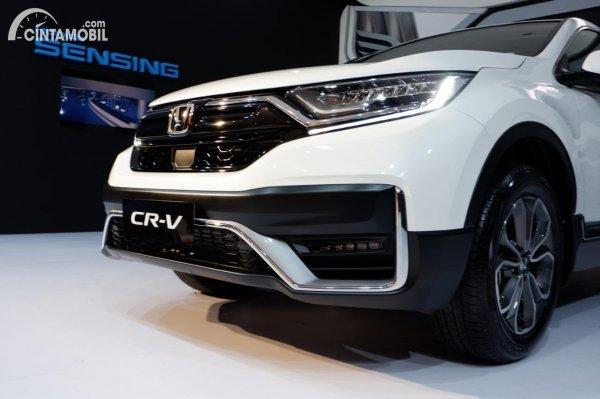Foto bumper depan Honda CR-V Turbo Prestige 2021