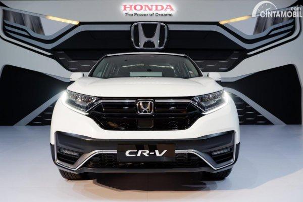 Foto tampilan depan Honda CR-V Turbo Prestige 2021