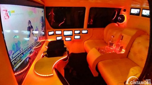 Modifikasi Interior Hijet 1000