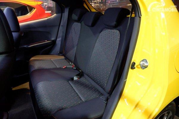 Foto kursi belakang Honda Brio RS Urbanite Edition 2021