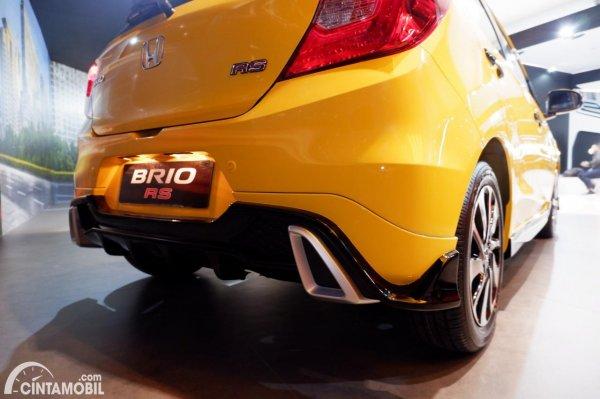 Foto bumper belakang Honda Brio RS Urbanite Edition 2021