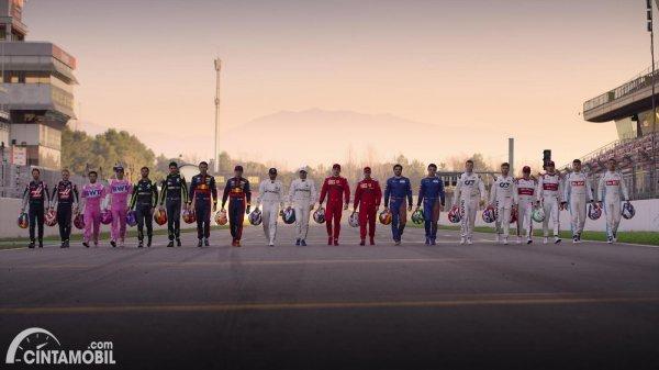 pembalap Formula 1 2020 yang akan masuk Drive to Survive