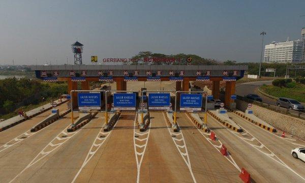 Foto Gerbang Tol Kunciran 1