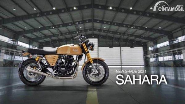 Cleveland Cyclewerks Ace 400 Scrambler Sahara