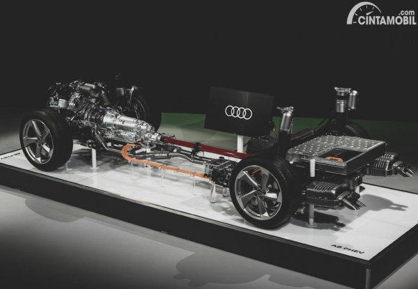 Sistem Kerja Mobil Hybrid Audi