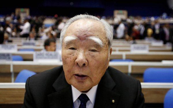 Gambar menunjukan Bos Suzuki