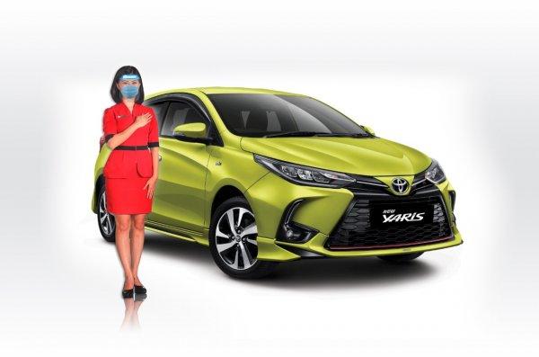 Gambar menunjukan Toyota Yaris