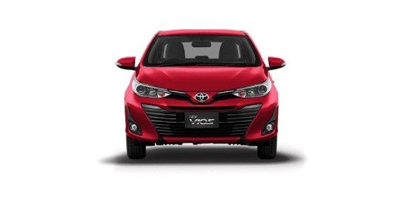 Gambar menunjukan Tampilan Toyota Vios