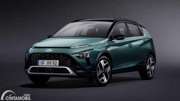 Tampilan depan Hyundai Bayon 2021