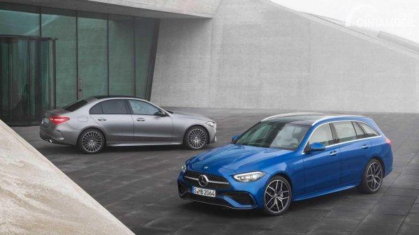 mobil baru Mercedes-Benz C-Class 2021 sedan dan wagon