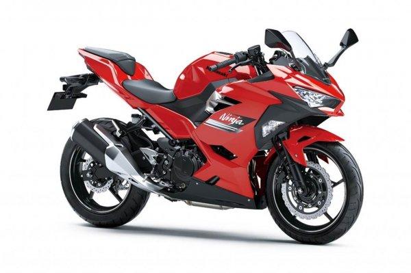 Kawasaki Ninja 250 Passion Red