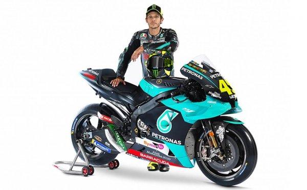 Valentino Rossi Petronas Yamaha 2021