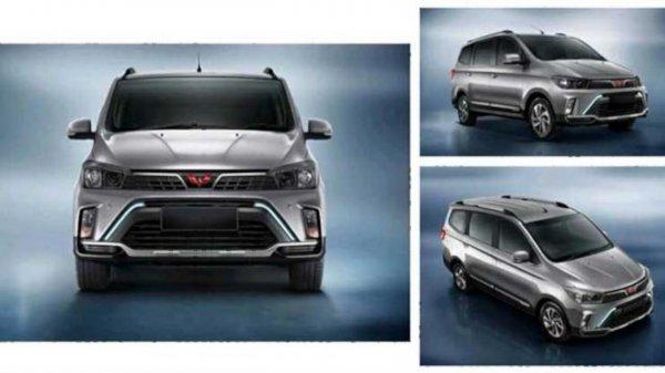 Foto menunjukkan Wuling Confero S Facelift 2021