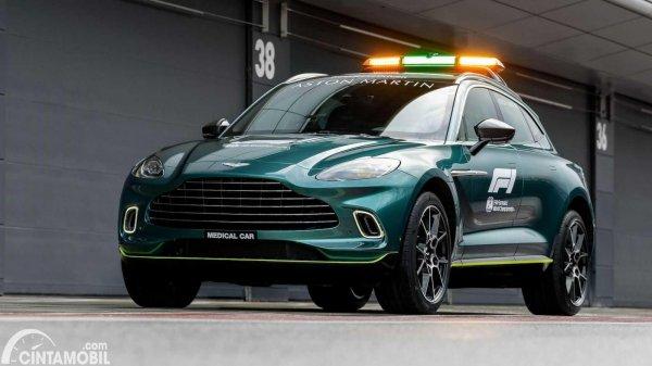 mobil medis F1 Aston Martin DBX