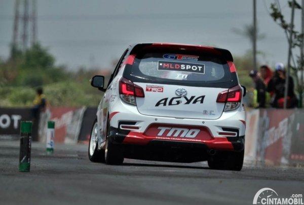 Modifikasi Toyota Agya tim TTI