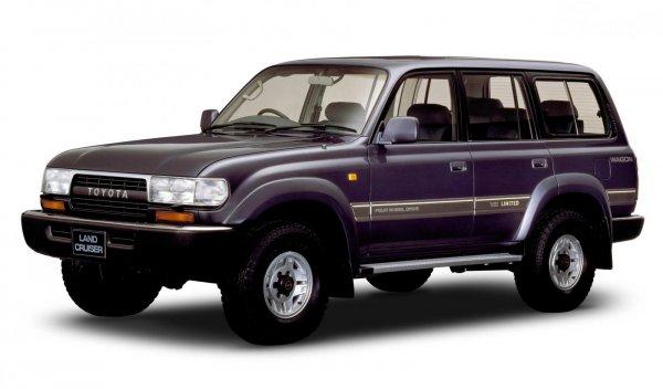 gambar Toyota Land Cruiser Seri 80 1995