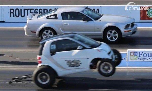 Smart Fortwo Modifikasi Drag Race