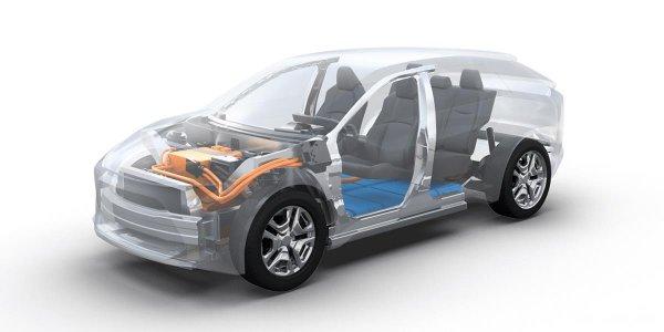 platform mobil listrik Toyota E-TNGA