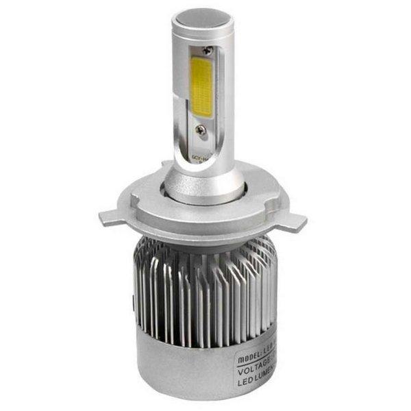 gambar menunjukkan sebuah lampu led mobil h4