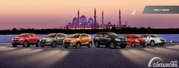 Gambar Chevrolet Product Line Up