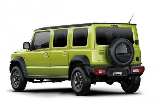 Suzuki Jimny 5 Doors rendering