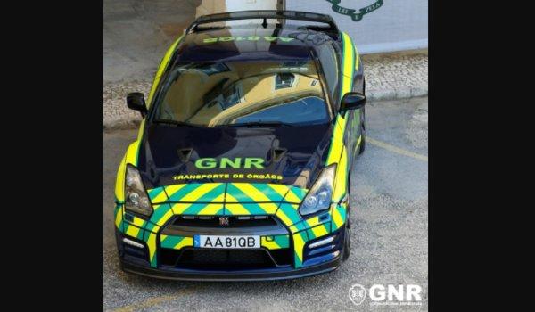 Gambar menunjukan Nissan GT-R