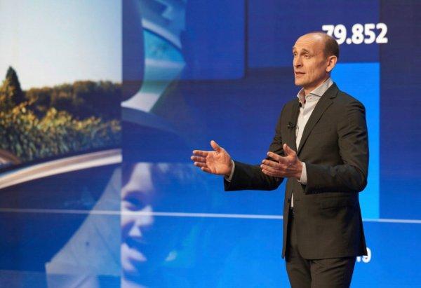 Foto Ralf Brandstätter, Chief Executive Officer merek Volkswagen Passenger Cars