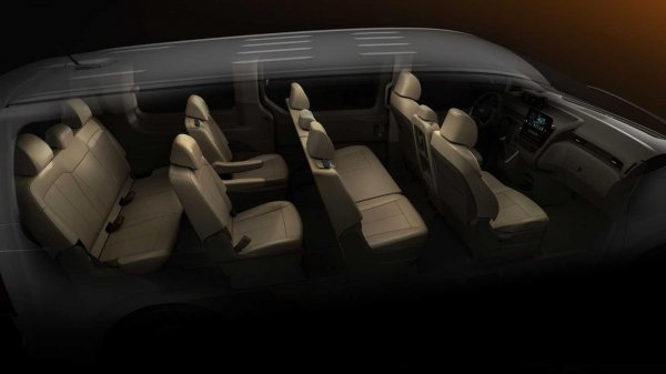 Gambar menunjukan Interior Hyundai STARIA