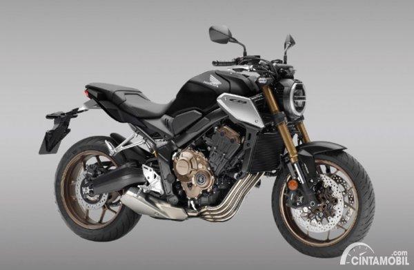 Honda CB650R 2021 Matte Gunpowder Black