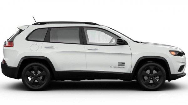 Jeep Cherokee Freedom Edition White