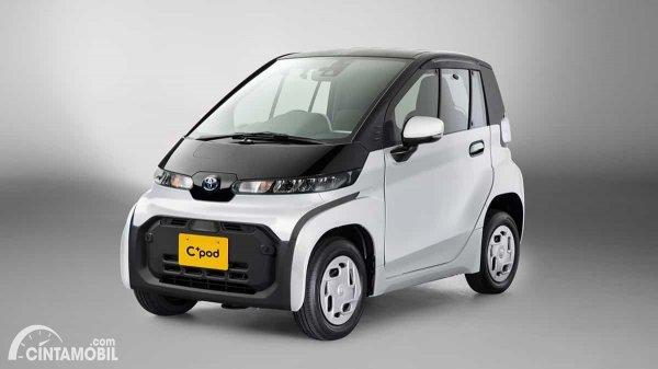 Mobil listrik C+pod Toyota yang diluncurkan di Jepang