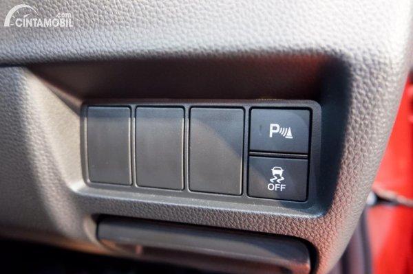 Foto ringkasan fitur keselamatan Honda City Hatchback RS 2021