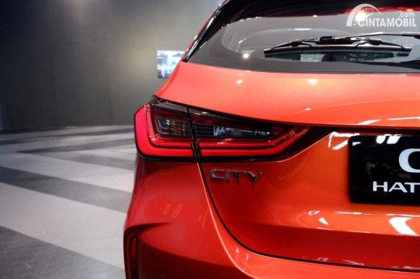 Foto stoplamp Honda City Hatchback RS 2021 CVT