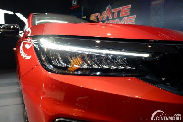 Foto headlamp Honda City Hatchback RS 2021 CVT