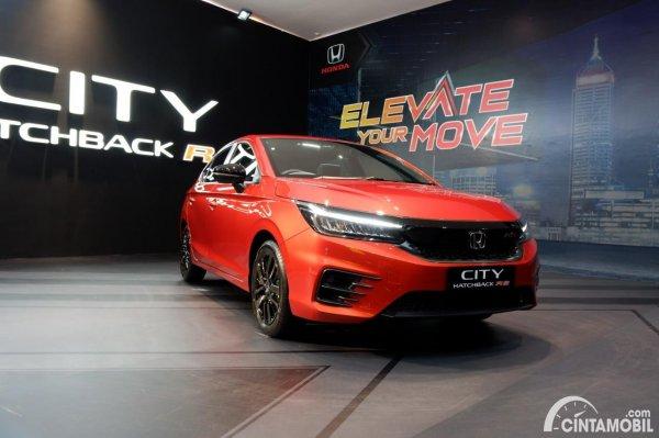 Foto tumpak depan Honda City Hatchback RS 2021 CVT