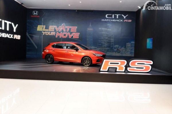 Foto ilustrasi harga Honda City Hatchback RS