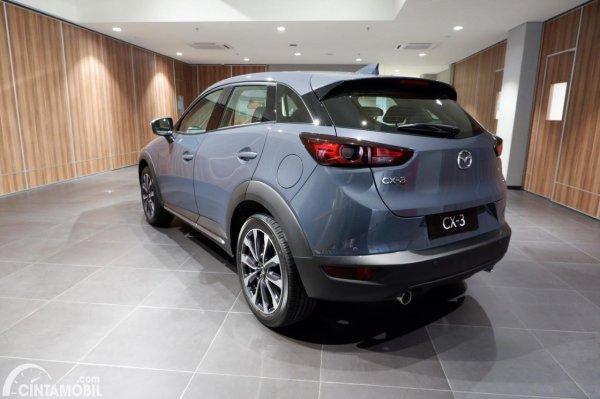 Foto tampilan belakang Mazda CX-3 1.5L Sport 2021