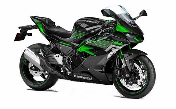 Kawasaki Ninja 700R Rendering